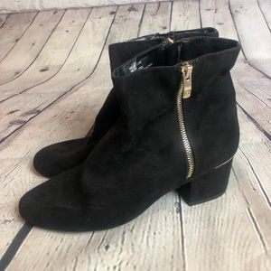 Liz Claiborne Memory Foam Ankle Booties